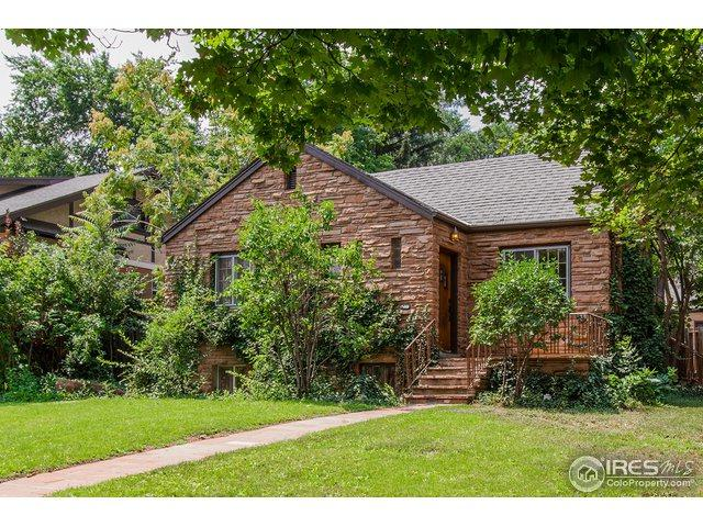 889 14th St, Boulder, CO 80302 (MLS #868347) :: The Lamperes Team