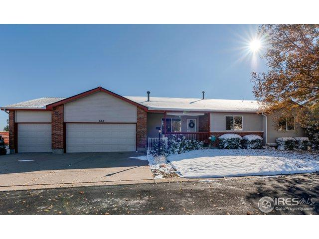 669 Radiant Dr, Loveland, CO 80538 (MLS #868373) :: The Daniels Group at Remax Alliance
