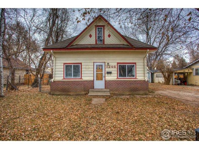 1246 E 2nd St, Loveland, CO 80537 (MLS #868384) :: The Daniels Group at Remax Alliance