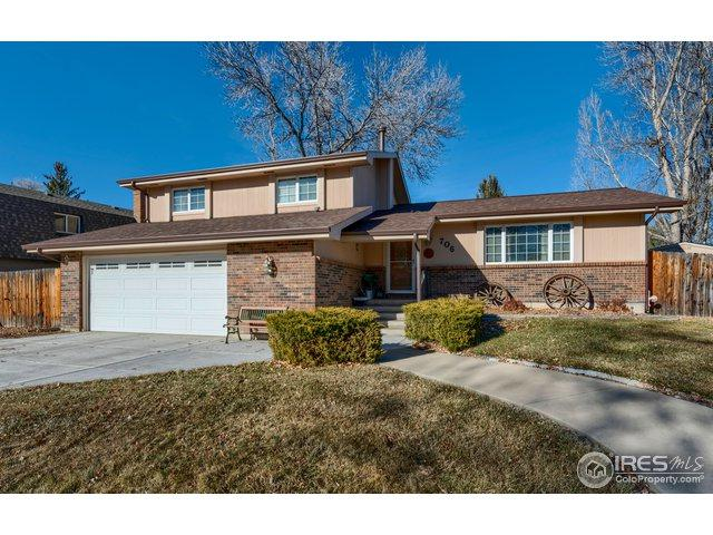 706 Rocky Mountain Way, Fort Collins, CO 80526 (MLS #868409) :: The Lamperes Team
