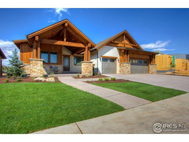 4077 Ridgeline Dr, Timnath, CO 80547 (MLS #868440) :: The Lamperes Team