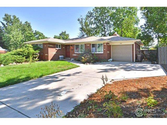 510 S 45th St, Boulder, CO 80305 (#869276) :: The Peak Properties Group