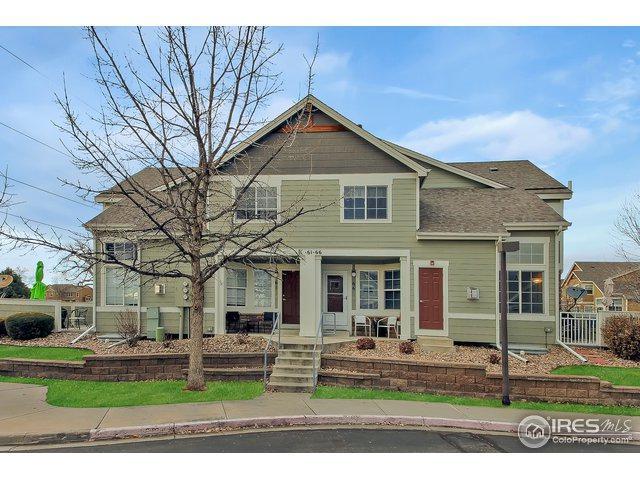 805 Summer Hawk Dr K-66, Longmont, CO 80504 (MLS #869521) :: Downtown Real Estate Partners