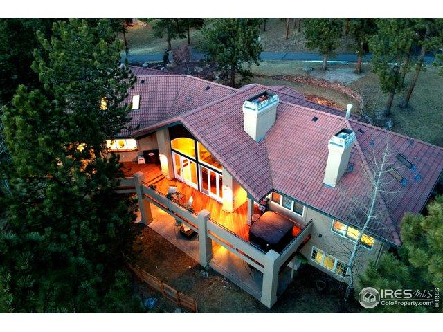 30442 Heavenly Ct, Evergreen, CO 80439 (#869657) :: The Peak Properties Group