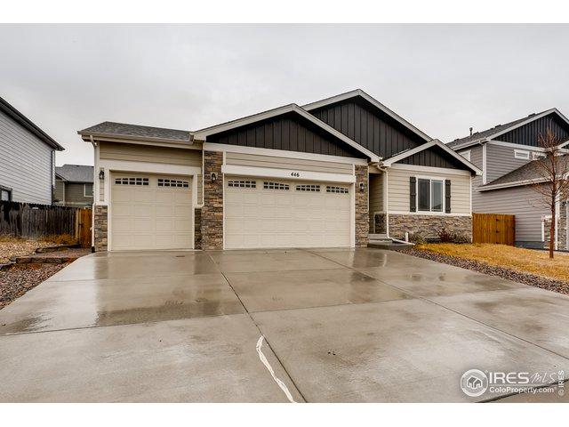 446 Heritage Ln, Johnstown, CO 80534 (MLS #869829) :: Tracy's Team