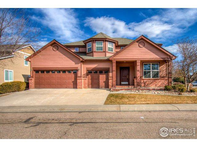 8140 Lighthouse Ln, Windsor, CO 80528 (MLS #870284) :: The Lamperes Team