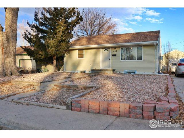 806 Carol St, Fort Morgan, CO 80701 (MLS #870426) :: The Daniels Group at Remax Alliance