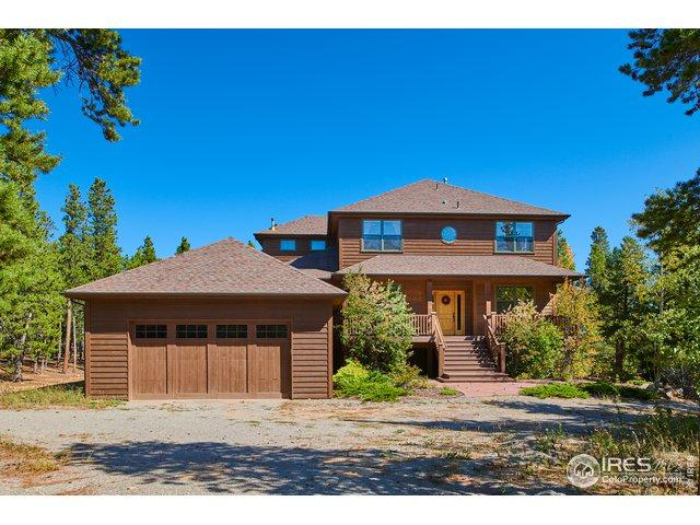 50 Shoshoni Way, Nederland, CO 80466 (MLS #871198) :: Colorado Home Finder Realty