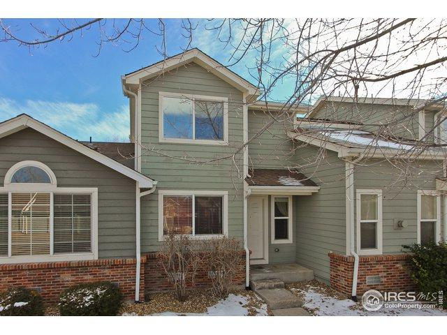 51 21st Ave #25, Longmont, CO 80501 (MLS #871325) :: Sarah Tyler Homes
