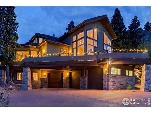 9051 Eastridge Rd, Golden, CO 80403 (MLS #871334) :: Bliss Realty Group