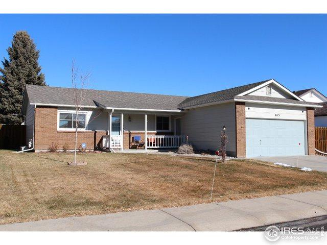 813 E 34th St, Loveland, CO 80538 (MLS #871668) :: Bliss Realty Group