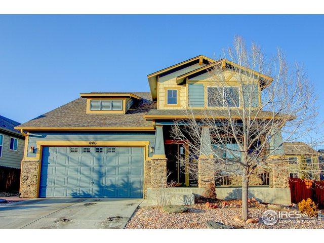 846 Brookedge Dr, Fort Collins, CO 80525 (MLS #872048) :: Sarah Tyler Homes