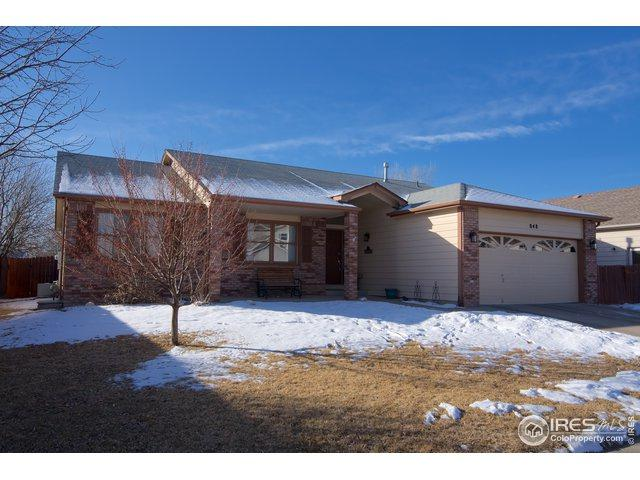 848 Jordache Dr, Loveland, CO 80538 (MLS #872332) :: Sarah Tyler Homes