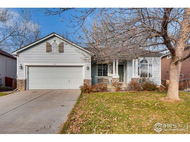 814 Timothy Dr, Longmont, CO 80503 (MLS #872458) :: The Daniels Group at Remax Alliance