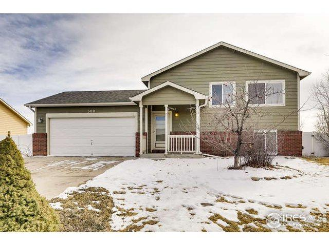 500 E 29th St Dr, Greeley, CO 80631 (MLS #872507) :: The Daniels Group at Remax Alliance