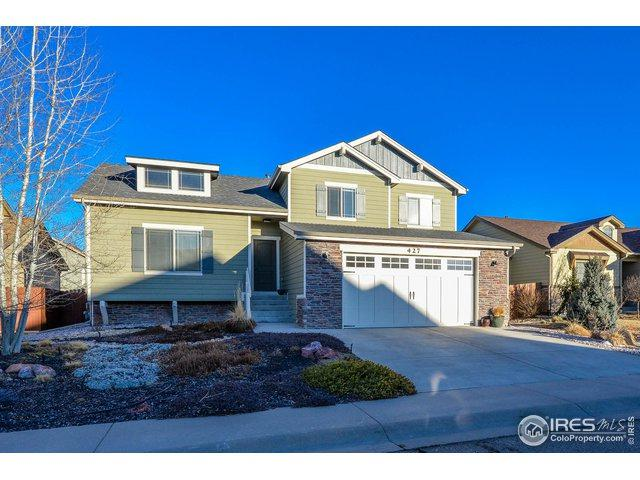 427 Frontier Ln, Johnstown, CO 80534 (MLS #872714) :: The Lamperes Team