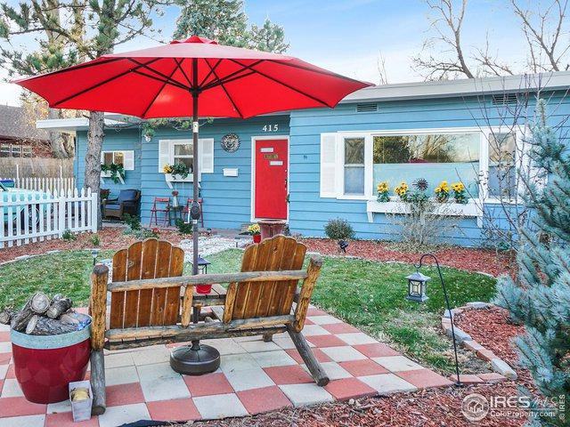 415 N Shields St, Fort Collins, CO 80521 (MLS #872749) :: Kittle Real Estate