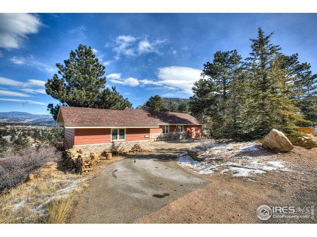 803 Ponderosa Ln, Estes Park, CO 80517 (#872965) :: The Griffith Home Team