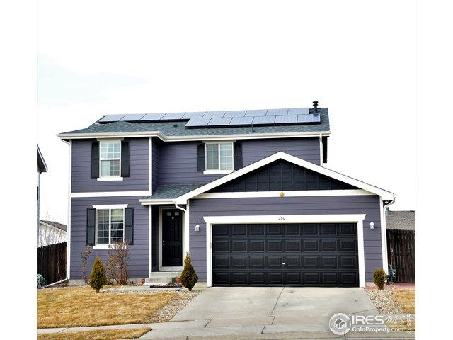 260 Bonanza Dr, Erie, CO 80516 (MLS #872973) :: The Lamperes Team
