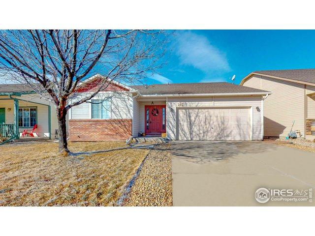 243 Cardinal Ave, Loveland, CO 80537 (MLS #873045) :: The Lamperes Team