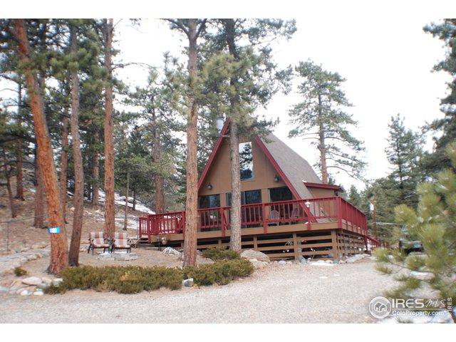 1001 Rambling Dr, Estes Park, CO 80517 (#873099) :: The Peak Properties Group