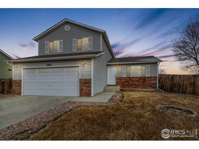 2905 Swan Point Ct, Evans, CO 80620 (MLS #873280) :: J2 Real Estate Group at Remax Alliance