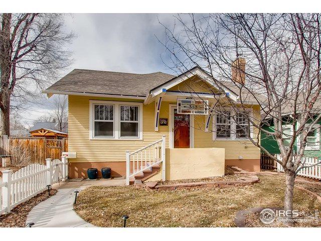 313 Sherman St, Longmont, CO 80501 (MLS #873680) :: 8z Real Estate