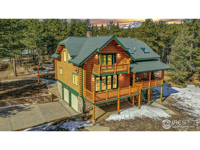 87 Big John Rd, Lyons, CO 80540 (MLS #874866) :: Downtown Real Estate Partners