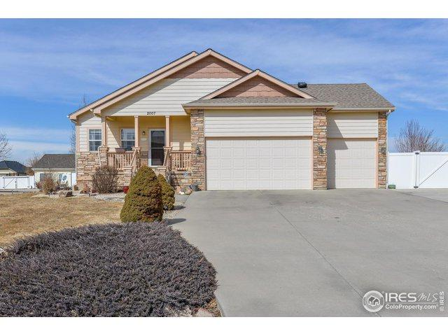 2007 Trail Ridge Dr, Severance, CO 80615 (MLS #875022) :: Hub Real Estate