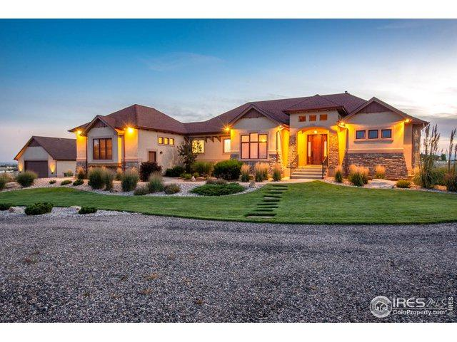 39821 Hilltop Cir, Severance, CO 80610 (MLS #875067) :: Hub Real Estate