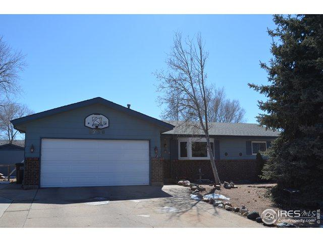2738 W 23rd St, Greeley, CO 80634 (#875265) :: The Peak Properties Group