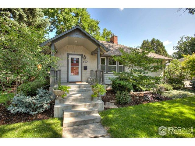 412 E Laurel St, Fort Collins, CO 80524 (MLS #875951) :: Downtown Real Estate Partners