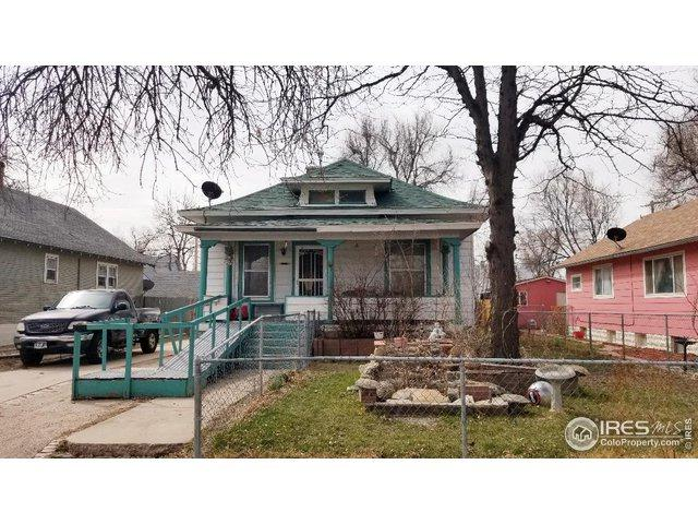 1314 7th St, Greeley, CO 80631 (MLS #877056) :: J2 Real Estate Group at Remax Alliance