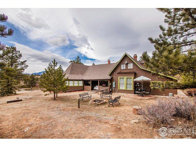 898 Fish Creek Rd, Estes Park, CO 80517 (#877436) :: The Griffith Home Team