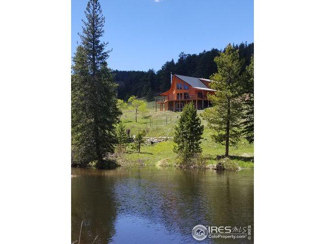 98 Navajo Trl, Red Feather Lakes, CO 80545 (MLS #877814) :: Kittle Real Estate