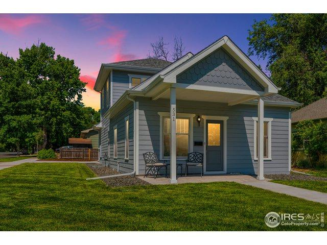 531 Stover St, Fort Collins, CO 80524 (MLS #877830) :: Keller Williams Realty