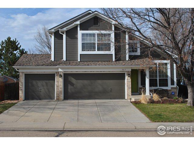 307 N Cherrywood Dr, Lafayette, CO 80026 (MLS #878057) :: The Bernardi Group