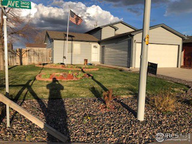 2412 Alpine Ave, Greeley, CO 80631 (MLS #878137) :: Keller Williams Realty