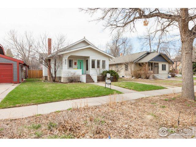 627 W Myrtle St, Fort Collins, CO 80521 (MLS #878250) :: Keller Williams Realty