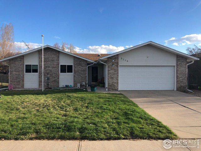 5718 W 17th St, Greeley, CO 80634 (MLS #878426) :: Downtown Real Estate Partners