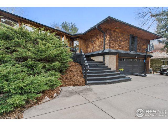 1440 Bellevue Dr, Boulder, CO 80302 (MLS #878593) :: The Bernardi Group at Coldwell Banker