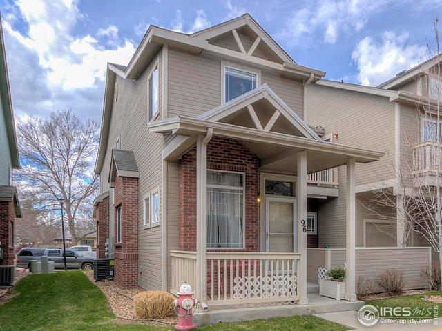 818 S Terry St U96, Longmont, CO 80501 (MLS #878699) :: Keller Williams Realty