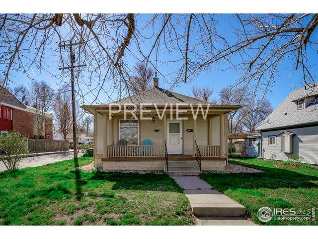 1311 12th Ave, Greeley, CO 80631 (MLS #878800) :: Keller Williams Realty