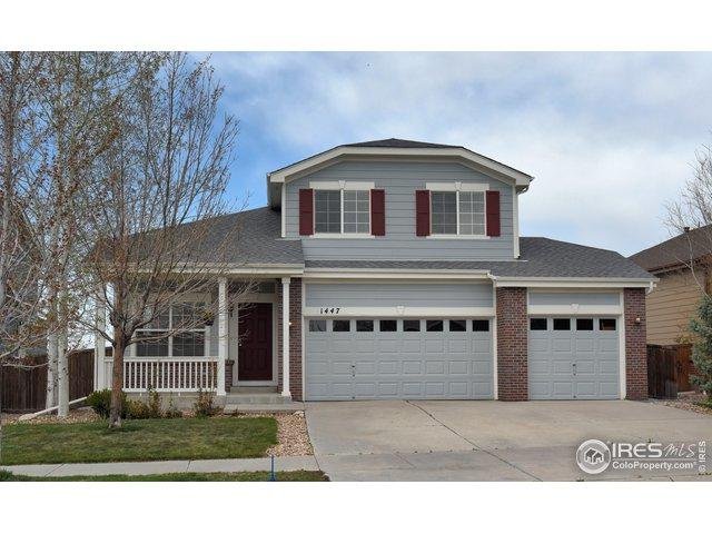 1447 Hickory Dr, Erie, CO 80516 (MLS #879871) :: Kittle Real Estate