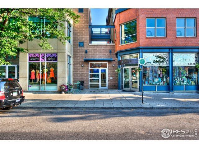 1637 Pearl St #305, Boulder, CO 80302 (MLS #880537) :: Sarah Tyler Homes