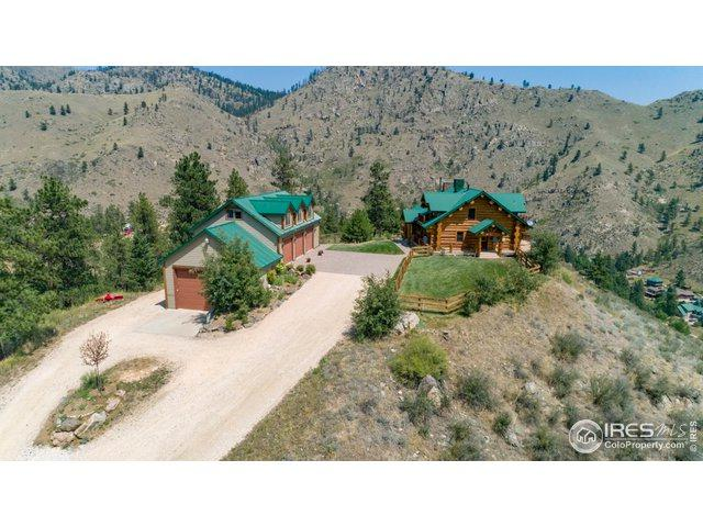 222 Unger Mountain Rd, Bellvue, CO 80512 (MLS #881421) :: 8z Real Estate