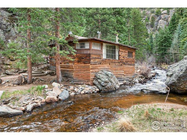1105 North Fork Rd, Glen Haven, CO 80532 (#881527) :: James Crocker Team