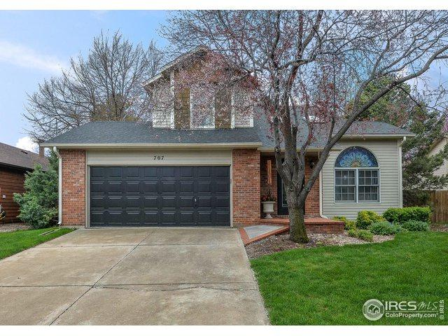707 Arbor Ave, Fort Collins, CO 80526 (#881657) :: The Griffith Home Team