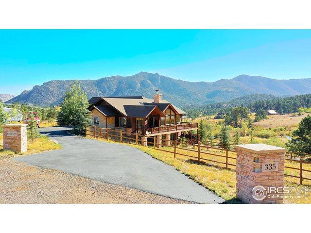 335 Saddleback Ln, Estes Park, CO 80517 (MLS #881721) :: 8z Real Estate