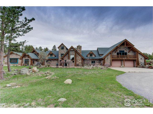 1260 Twin Sisters Rd, Nederland, CO 80466 (MLS #881822) :: J2 Real Estate Group at Remax Alliance